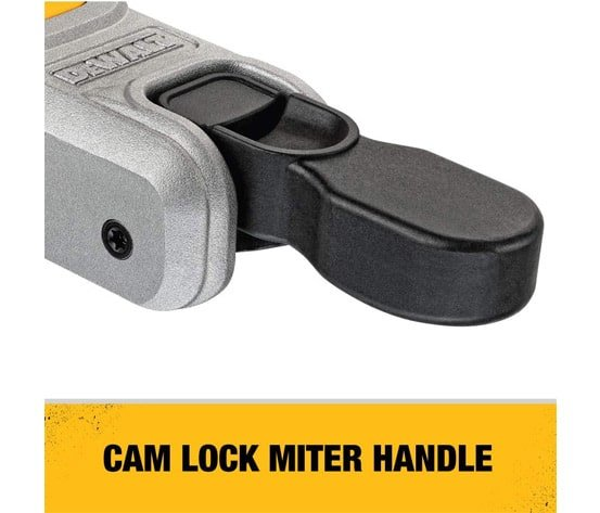 11 positive stops and cam lock