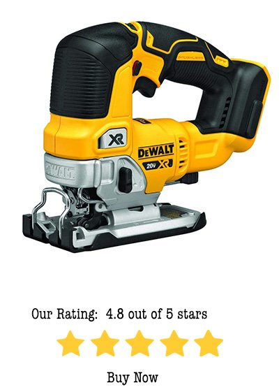 dewalt 20v max cordless jigsaw review