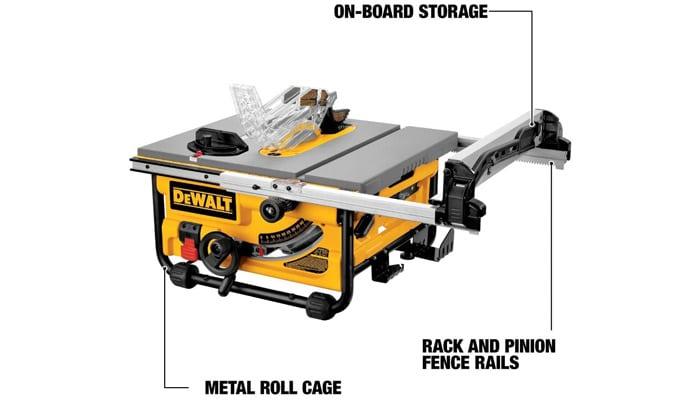 dewalt dw745 10-inch table saw 20-inch rip capacity