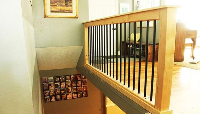 contemporary-industrial handrail