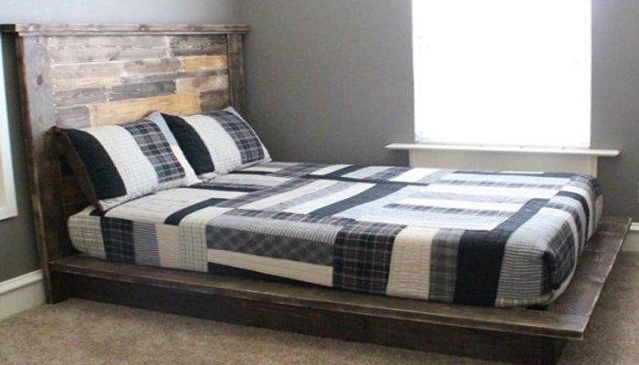easy platform diy bed frame