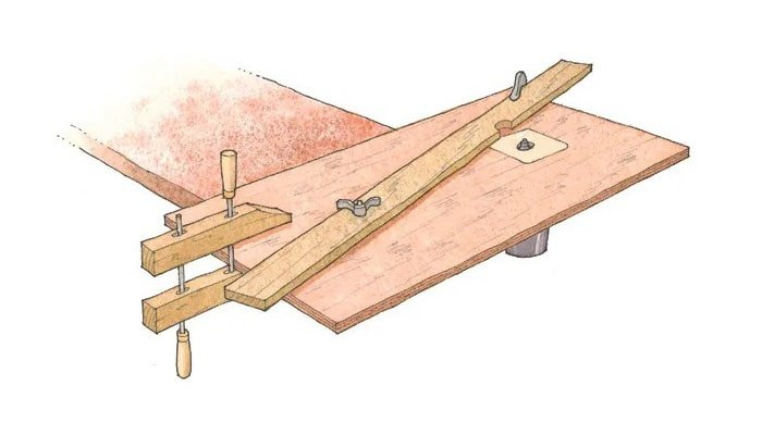 fine woodworking's simple router table