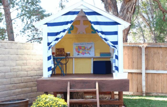 happy tree house playhouse