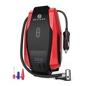 helteko portable 12V air compressor