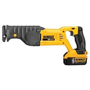 dewalt max cordless reciprocating saw